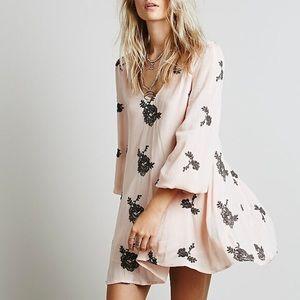 Free people Austin Mini Dress - Pink